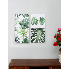 Tropical Collage 60X60CM Set of 3, Picture Frame