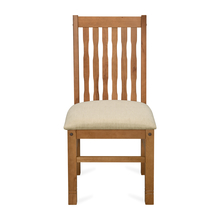 Roosey Dining Chair, Natural Walnut
