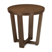 Bernice Side Table, Dark Brown