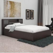 Nilkamal Monarch Queen Bed - Wenge