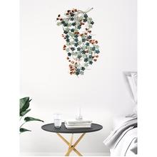 Metal Wine Wall Decor, Multicolor