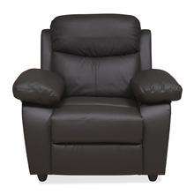Civic 1 Seater Sofa, Mega Brown