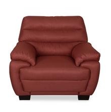 Bradley 1 Seater Sofa - @home by Nilkamal, Maroon