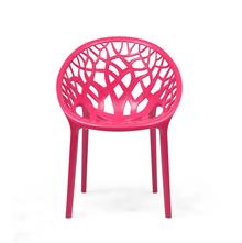 Nilkamal Crystal PP Chair - Pink