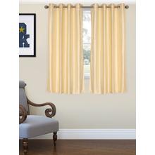 Embs Square Window curtain 115X152CM, Cream
