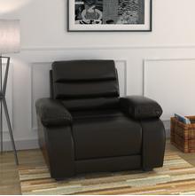 Beauty 1 Seater Sofa - @home by Nilkamal, Chocolate