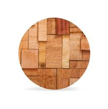 Trivet Persian 17Cm Chips Dia, Wooden