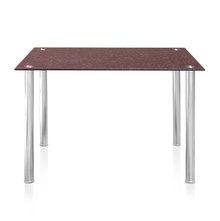 Napoli 4 Seater Marble Dining Table - @home by Nilkamal, Black