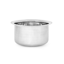 Plain Stainless Steel 2.2 Litres Tope, Silver