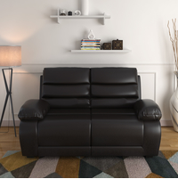 Beauty 2 Seater Sofa - @home by Nilkamal, Chocolate