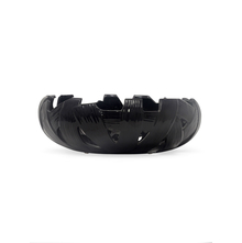 Cutwork Stone Bowl, Black