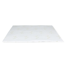 Gel Infused 150 cm x 200 cm Mattress Topper - @home by Nilkamal, White