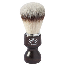 Omega 46126 HI-BRUSH fiber shaving brush– Made in Italy