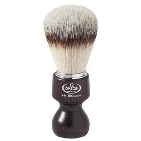 Omega 46126 HI-BRUSH fiber shaving brush– Made in Italy