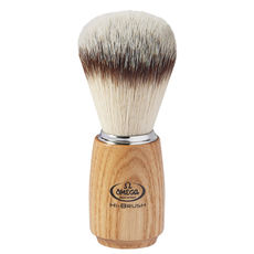 Omega 46150 HI-BRUSH 100% Synthetic Badger Imitation Shaving brush– Made in Italy