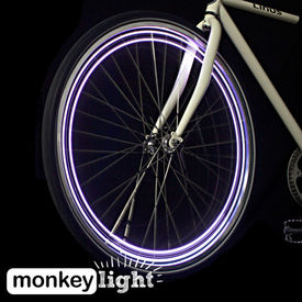 MonkeyLectric Monkey Light M204 Bicycle / Cycle Wheel Lights-04 LED- 5Patterns