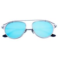 Bring On The Sun Sunnies (Blue Reflective)
