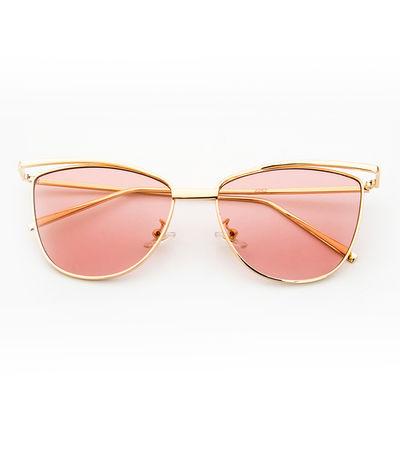 Purr-fect Cat Eye Sunnies (Light Pink Lens)