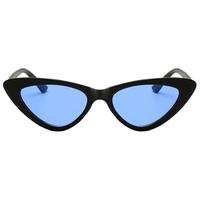 Gigi Cat Eye Blue Lens Sunglasses