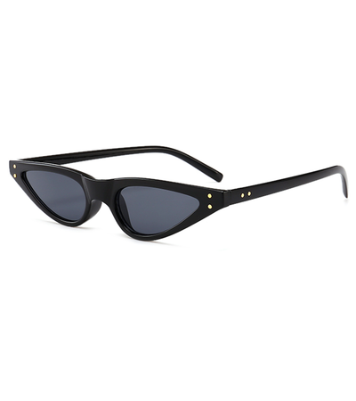 Paris Micro Black Sunglasses