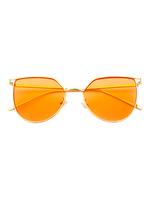 Melrose Cat Eye Sunnies (Light Orange Lens)