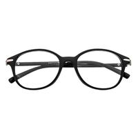 Oval Plastic Black Frame