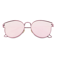 Mercury Kitten Cat Eye Sunnies (Pink Reflective)
