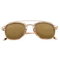 Show Time Reflective Sunnies (Gold)