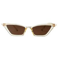 Kylie Micro Cat Eye Light Brown Sunglasses