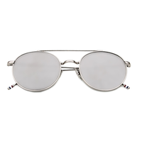 Round The Block Sunnies (Silver)