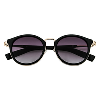 Under The Sun Cat Eye Sunnies (Black)