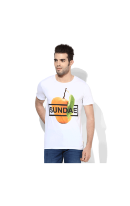 United Colors of Benetton Sundae T-Shirt, m,  white
