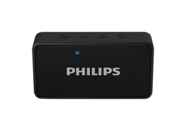 Philips BT64B/94 Portable Bluetooth Mobile/Tablet Speaker,  black