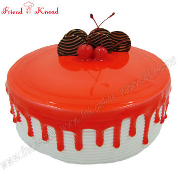 Strawberry Cake, 0.5 kg, egg