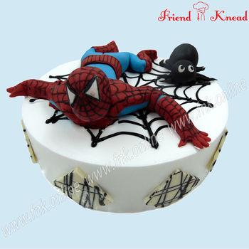 Kids' Special - Spider Man Cake, 1.5 kg, egg