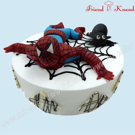 Kids  Special - Spider Man Cake