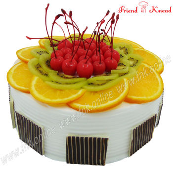Exotic Fruit Cake, 1 kg, egg