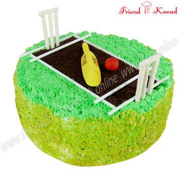 Cricket Stadium Cake, 2 kg, egg