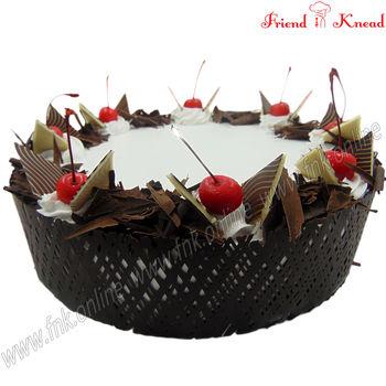 Eggless Elite Black Forest Cake, 0.5 kg, eggless