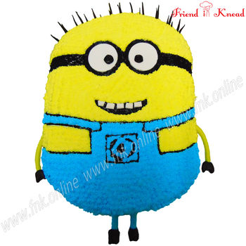 Kids' Special - Minion Cake, 3 kg, egg