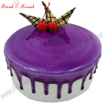 Eggless Blueberry Cake, 0.5 kg, eggless