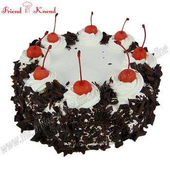Eggless Black Forest Cake, 0.5 kg, eggless