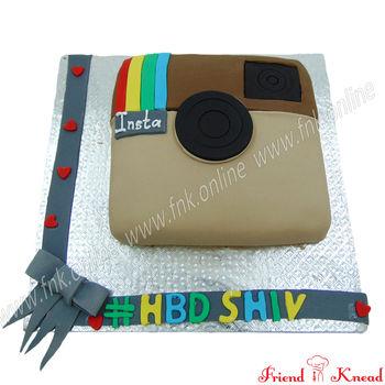 Instagram Cake, 1.5 kg, egg