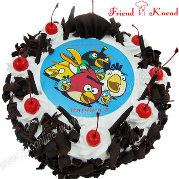 Angry Birds Photo Cake, 1 kg, egg, choice 1