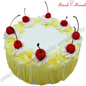 White Forest Cake, 0.5 kg, egg