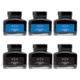 Parker Quink Blue & Black Ink Bottle (Pack of 6)