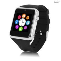 Kwitech™ Bluetooth 3.0 Smart Watch A1 with SIM/Memory Card Slot & Camera For all Android Smart Phones & Apple iOS - Silver