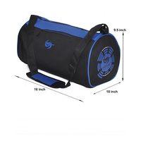 Gym Bag - Round shape (M-0273-BLU-BLK)