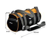 Gym Bag - -Round shape (MN-0282-YLW-BLK)