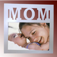 Personalized Photo on Wood & Glass Frame - Mom - Unique Gifts YashGifts. in